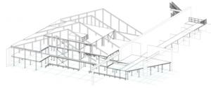 bouwtekening entresolvloer